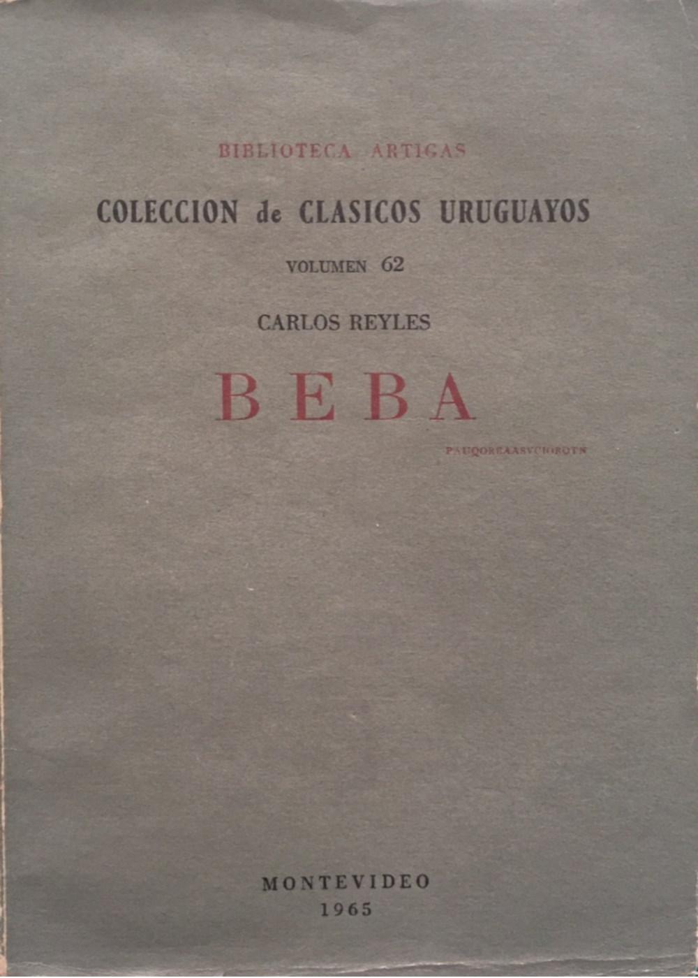 Beba. Novela de Carlos Reyles
