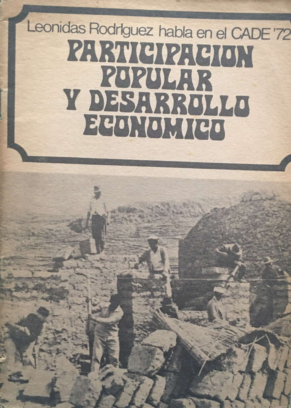 Participación Popular y Desarrollo Económico