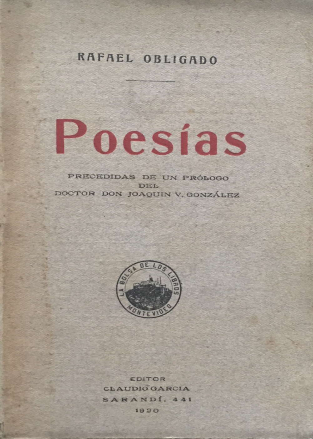 Poesías de Rafael Obligado