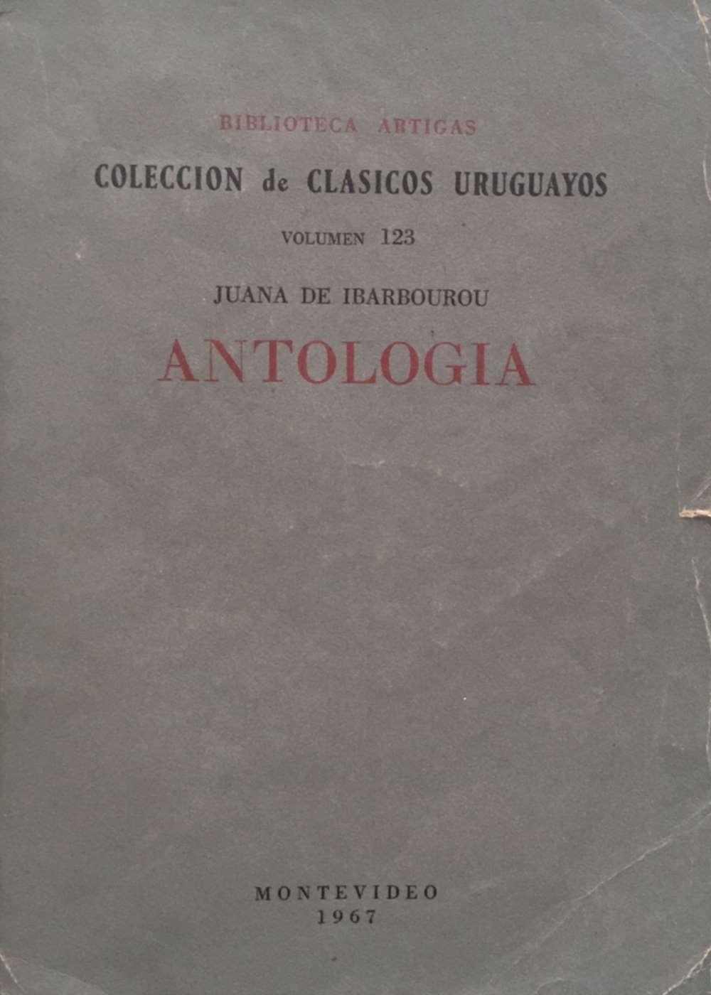Antología Juana de Ibarbourou